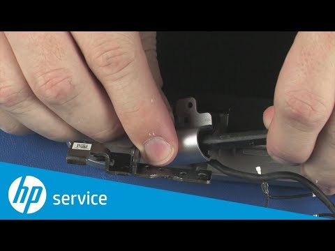 How to Replace the Hinge Covers | HP ProBook 450, 455, 470 G4 Notebook PC