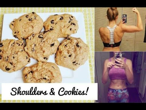 Food and Fitness Month: Shoulders and Cookies!