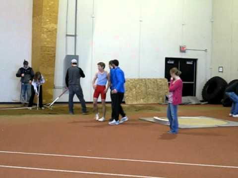 3-26-11 Brady Triple Jump 13.35m at SJU