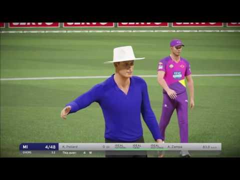 Don Bradman Cricket 17 // Rising Pune Supergiants Vs Mumbai Indians // IPL FINAL LIVE