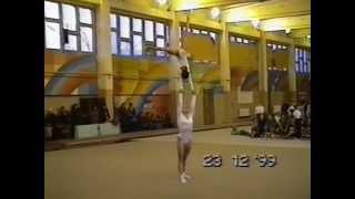 Sports Acro. Kazakhstan Champs1999. Yenina A. Sabitova N