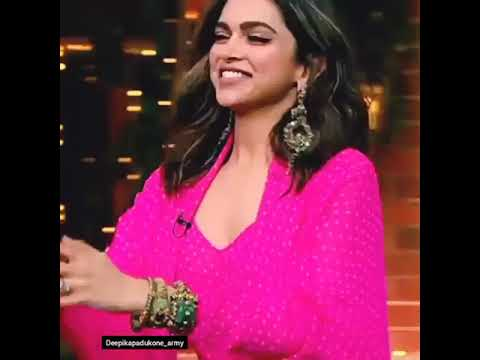 Super cute Deepika Padukone at Kapil Sharma show - YouTube