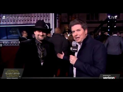 Dave Filoni Interview - Star Wars The Force Awakens Red Carpet