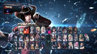 TEKKEN 7 - All Characters FULL ROSTER & Default Costumes (1080p 60fps) PS4 Pro