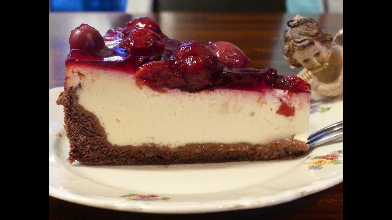 Quarkkuchen Mit Kirsch Zimt Haube Unglaublich Einfach Youtube