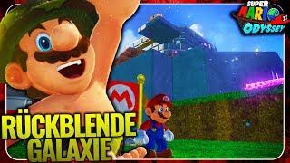 Rückblende (Throwback) Galaxy in Mario Odyssey! 🔥 Super Mario Odyssey Mod