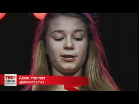 """""""Shakespeare's Apprentice"""" - Alexa Yeames - TEDxRaleigh 2011"""