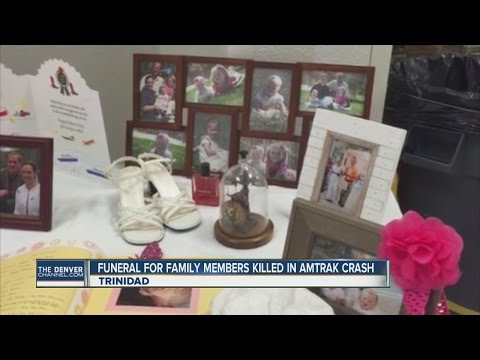 Funeral for family members killed in Amtrak crash