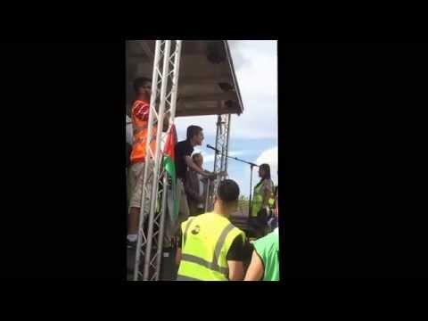 Palestine time demo 9 Aug 14