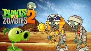 Растения против зомби 2/Plants vs Zombies 2: продолжение Ancient Egypt уровни 29-31