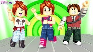 ROBLOX-FAMILY REBREAKING IN DANCE (Dance Off)