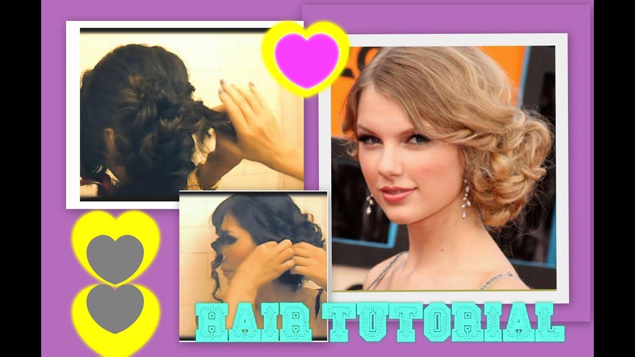 ☆ TAYLOR SWIFT HAIR TUTORIAL CUTE HAIRSTYLES