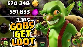 HOW TO USE GOBLINS TO GAIN HUGE LOOT! - Let's Play TH9 Ep.7 - Clash of Clans
