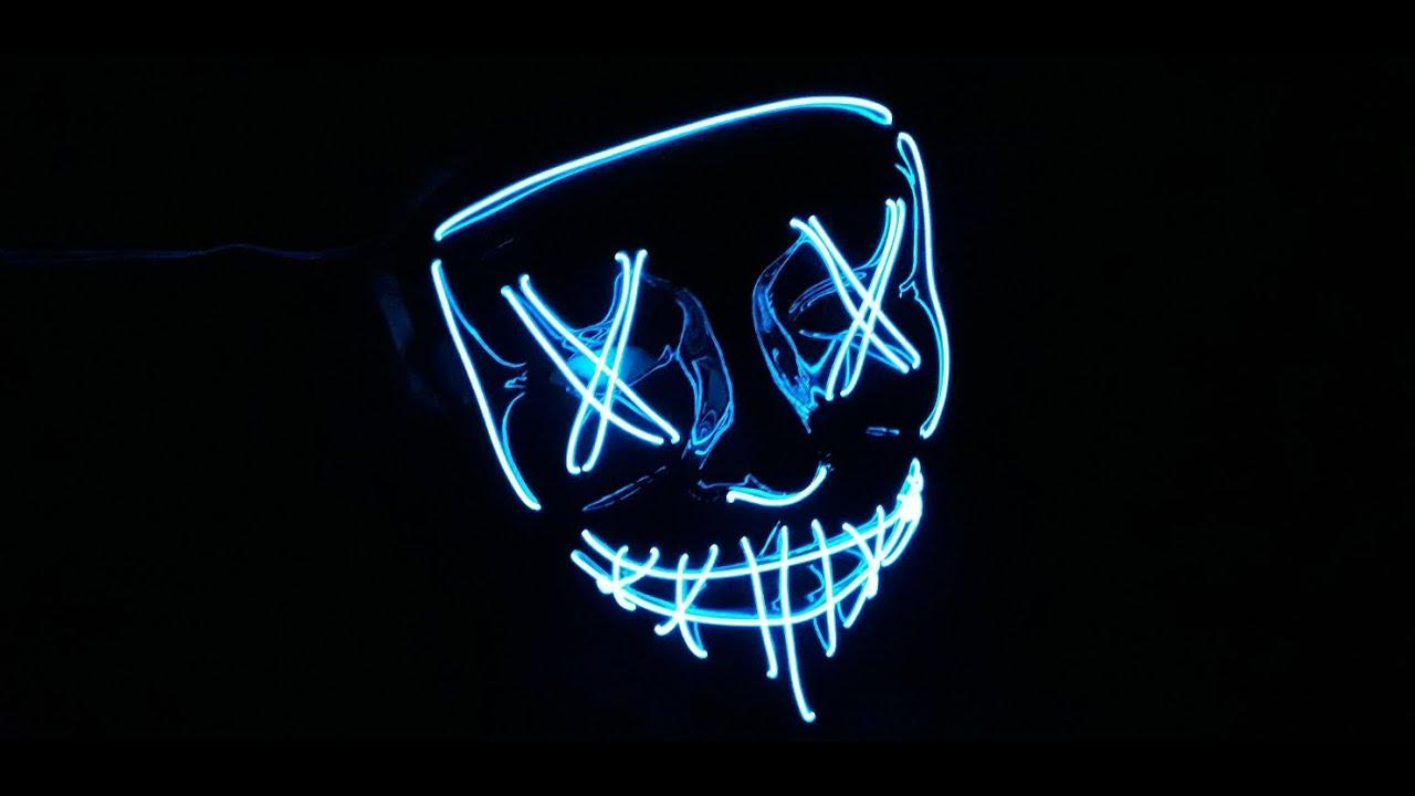 Maschera led Halloween!