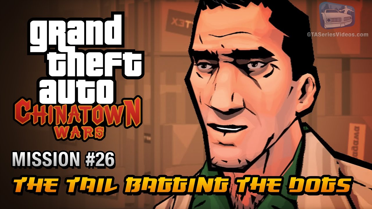 GTA Chinatown Wars - Mission #26 - The Tail Bagging the Dogs