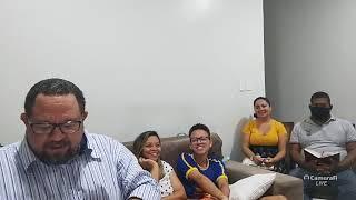 Família Ebenézer em seu lar. Oração vê edificação. 01/10/20