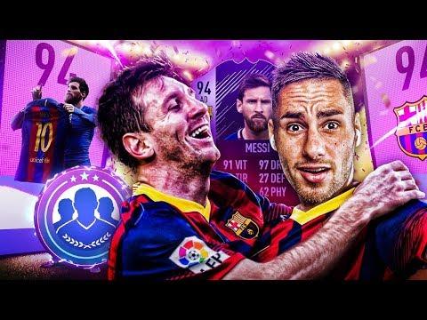 FIFA 18 - PACK OPENING SPÉCIAL MESSI HERO ET RÉCOMPENSES CLASH D'ÉQUIPES  !!!