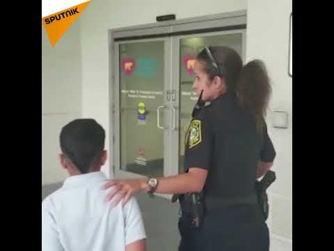 7 y.o. Handcuffed by Police After Attacking Teacher in Miami
