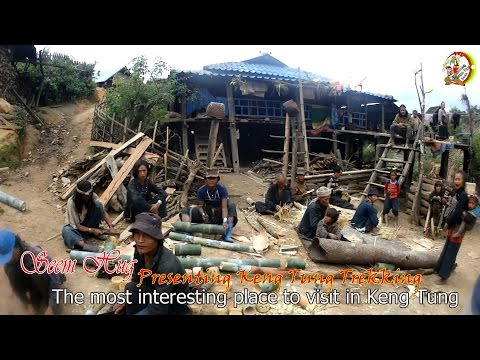 ชาวเขาแอ่นที่เชียงตุง Ann village in Keng Tung. Welcome you to join us Trekking in Myanmar.