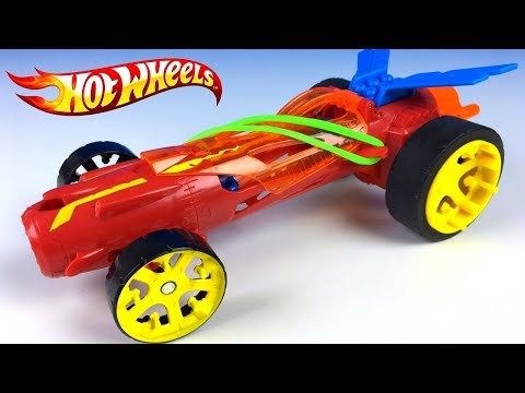 HOT WHEELS SPEED WINDERS TORQUE TWISTER RUBBER BAND POWER - STEAM TOY WITH RACING FUN - UNBOXING