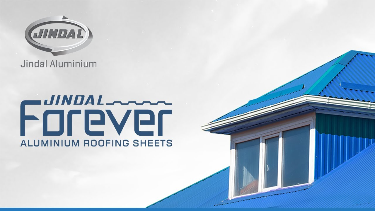 Colour roof sheets - Jindal Forever Aluminium Roofing Sheets
