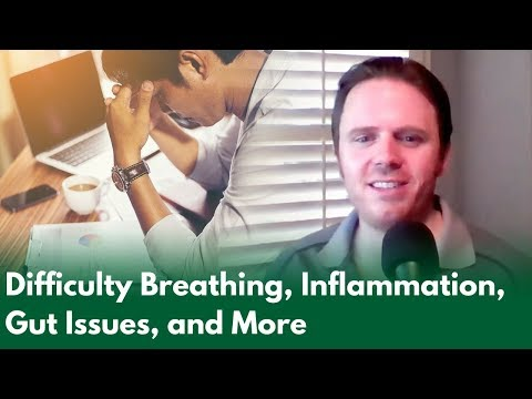 Difficulty Breathing, Inflammation, Gut Issues, and More | Dr. J Live Q & A