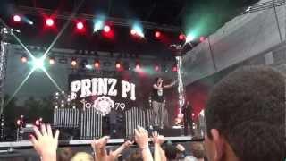 Prinz Pi live @ Juicy Beats 2012 Laura