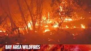 Woman describes terrifying escape from Northern California wildfire