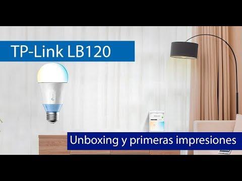 TP-Link LB120: Bombilla inteligente con luz blanca regulable y Wi-Fi