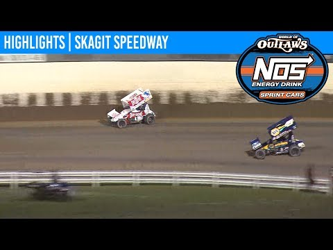 World of Outlaws NOS Energy Drink Sprint Cars Skagit Speedway, August 31st, 2019 | HIGHLIGHTS