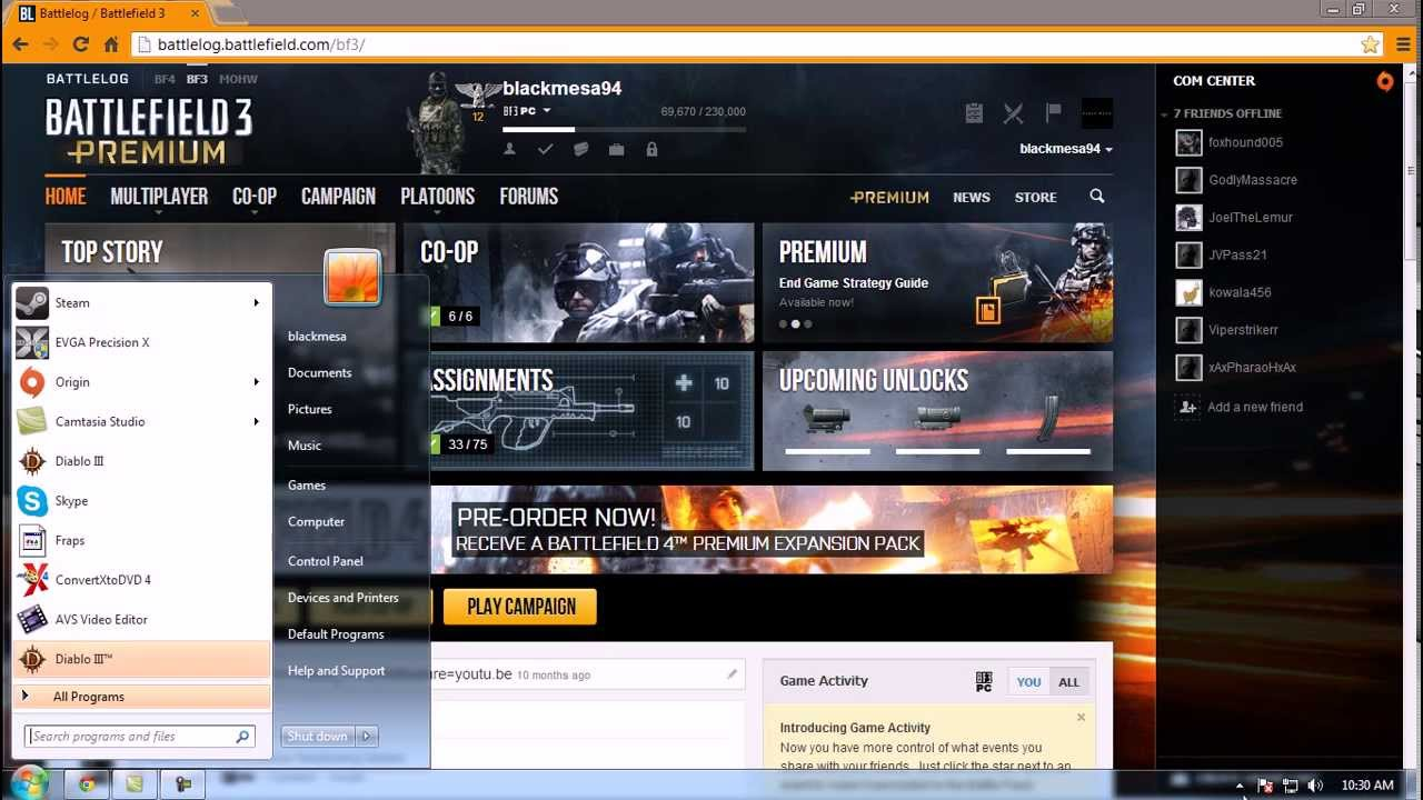 Movement lag Fix : Battlefield 3 ( Nvidia Based ) - YouTube | 1280 x 720 jpeg 121kB