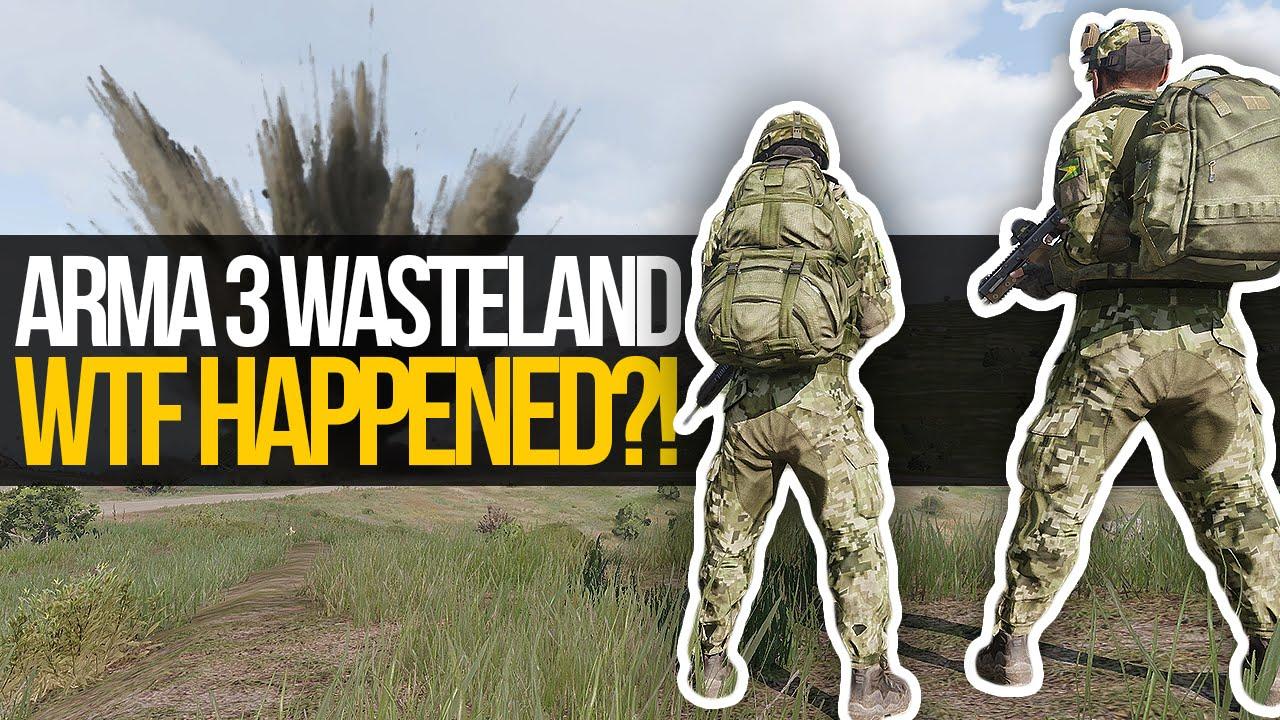 WTF HAPPENED?! - Arma 3 Wasteland (Stratis)