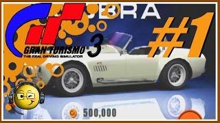 Let's Play Gran Turismo 3: Aspec Part 1: B & A Licenses and Choosing 1st Car