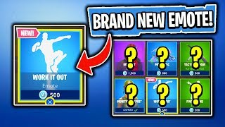 BRAND NEW EMOTE! Daily Item Shop In Fortnite: Battle Royale! (Skin Reset #186)