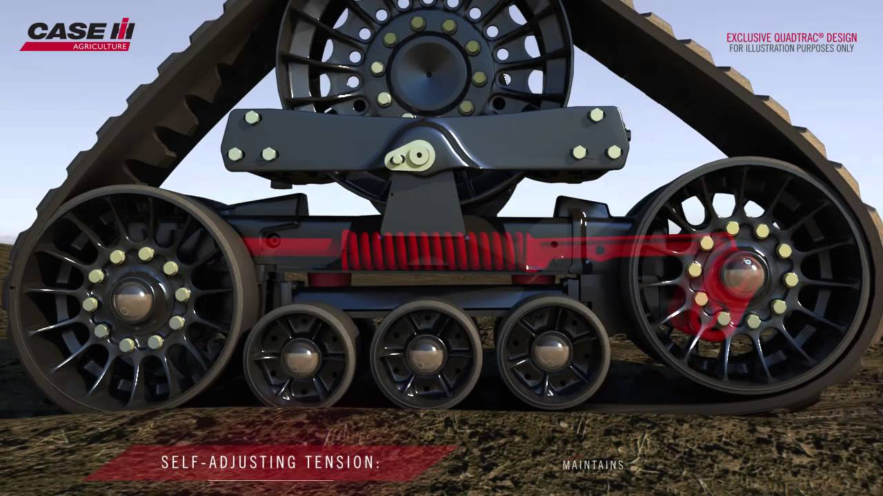Tractor Track System : Case ih steiger tractors exclusive quadtrac system