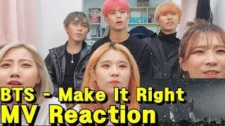Gambar cover 댄스팀이 보는!! BTS (방탄소년단) 'Make It Right (feat. Lauv)' Official MV Reaction 뮤비 리액션