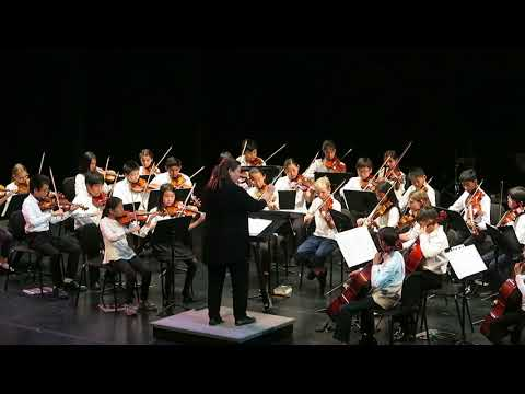 2018年5月_Palo Alto School district_ honor orchestra concert _1