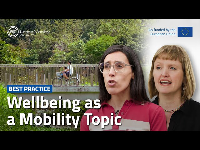How do urban mobility initiatives contribute to healthy and liveable cities?