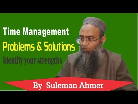 time management problems and solutions | What is Poor Planning | Suleman Ahmer  Day3 Part-3