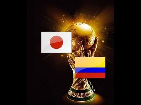 Japan Gegen Kolumbien Fussball ⚽ WM 2018 In Russland 1.Spiel Gruppe H