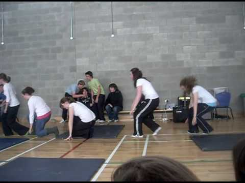 """Shake It"" Dance For Colaiste Naomh Eoin Talent Show xxx"