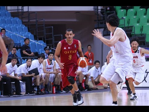 Mizo Amin - FIBA - Asian Championship Qatar vs Japan  Offensive Highlights (2015)