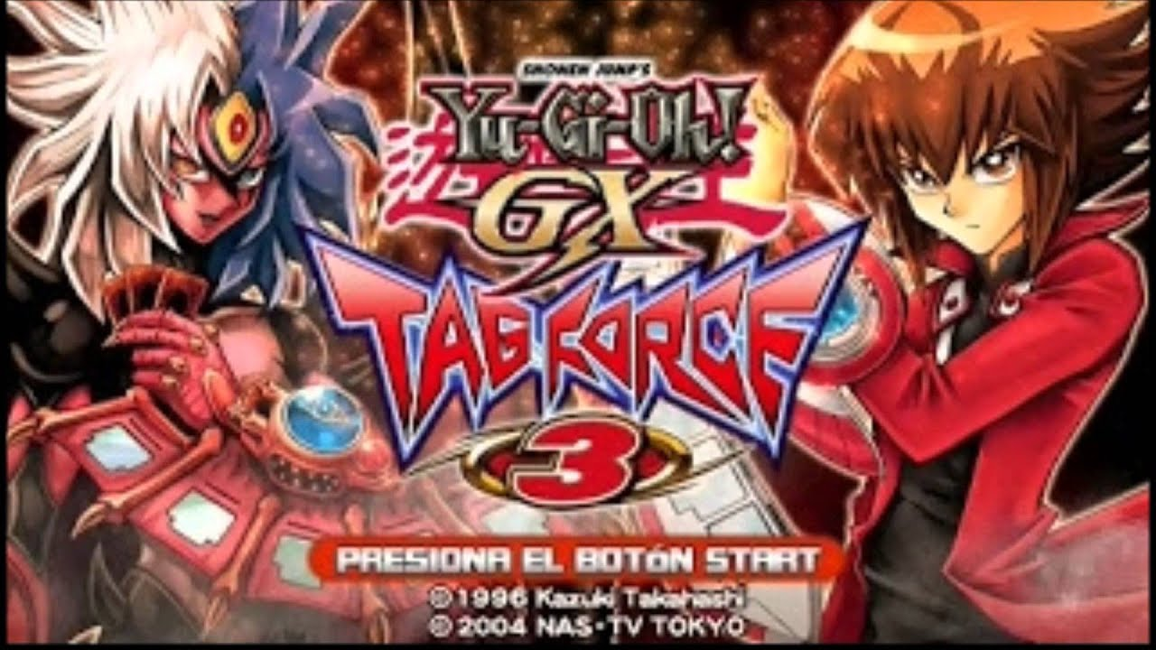 yu gi oh gx tag force 3 psp gameplay  youtube