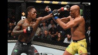 видео: Краткий обзор боя ?сраэль Адесанья VS Андерсон Сильва,Турнир UFC234