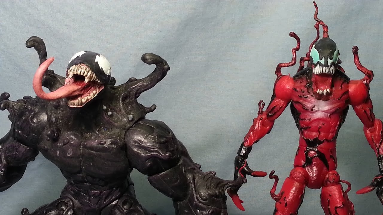Figure Review - Marvel Select - Ultimate Venom & Carnage ...Ultimate Carnage Marvel Select