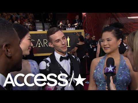 2018 Oscars: Adam Rippon & Mirai Nagasu Freak Out Meeting 'Star Wars'' Kelly Marie Tran | Access