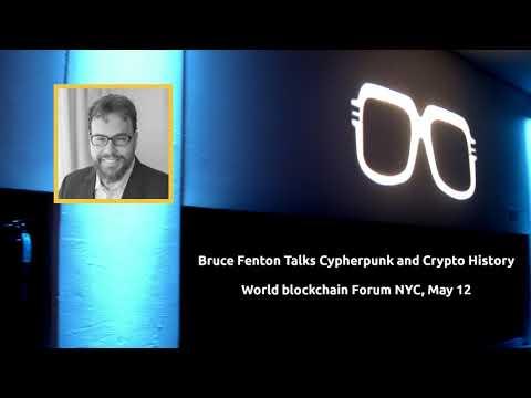 Bruce Fenton Talks Crypto History and cypherpunk, WBF NY