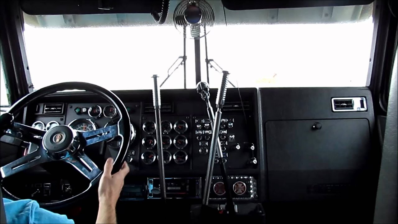 Kenworth w900l 3 stick shifting youtube publicscrutiny Images