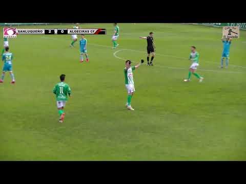 El Algeciras CF sufre su primera derrota ante el Atlético Sanluqueño