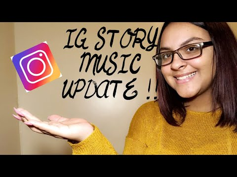 HOW TO ADD MUSIC ON IG STORY !! (Update)